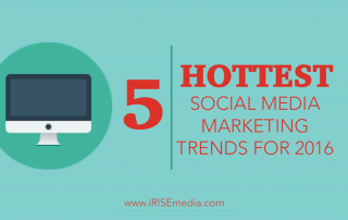 The 5 Hottest Social Media Marketing Trends for 2016