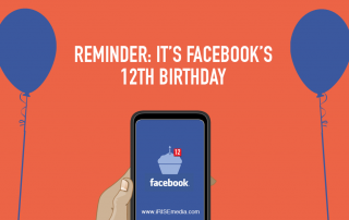 Reminder: Facebook's 12th Birthday Today
