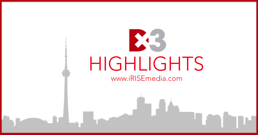 DX3 Canada 2016: Highlights