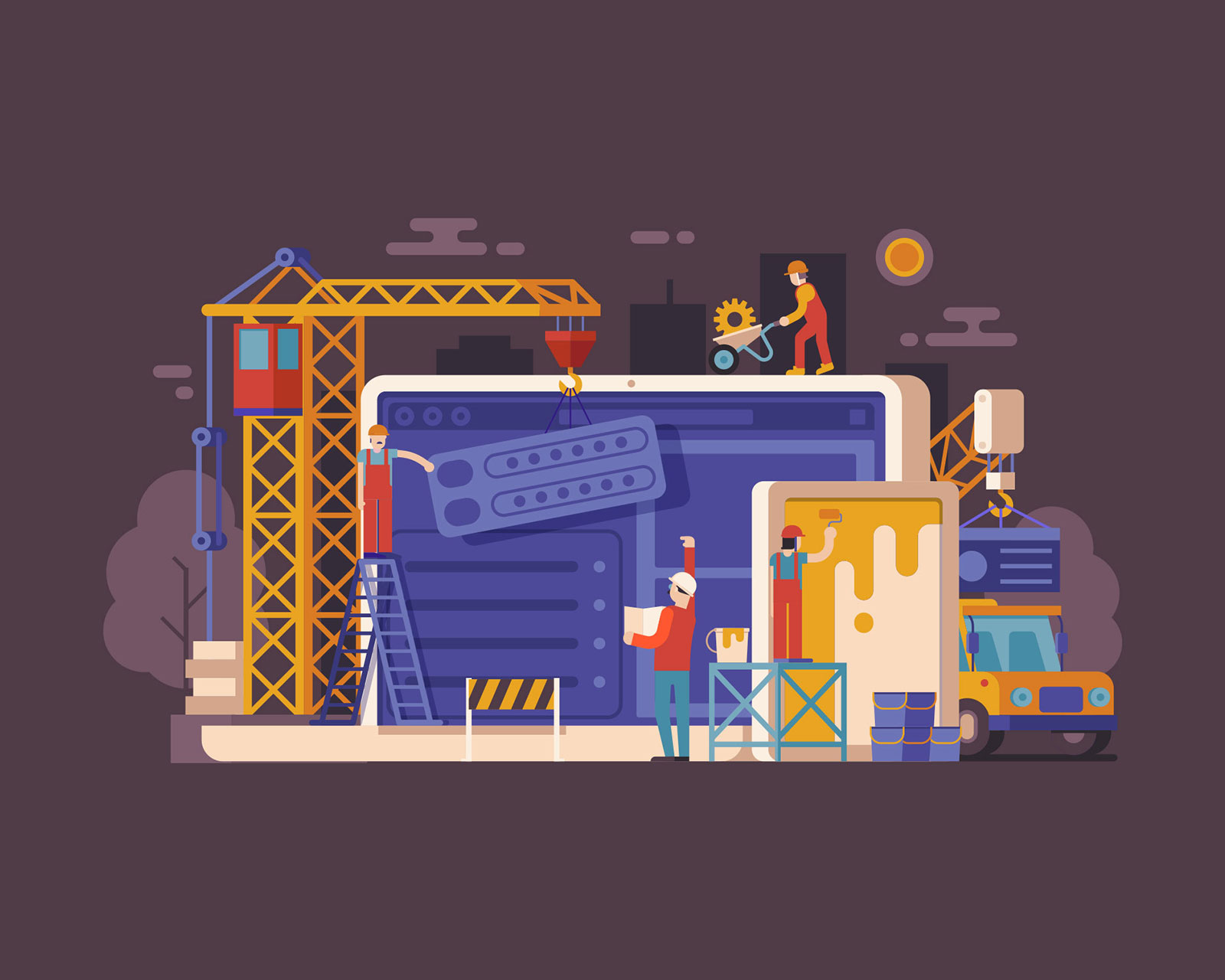 Web Building and Web Design published on Digital Marketing Solutions
