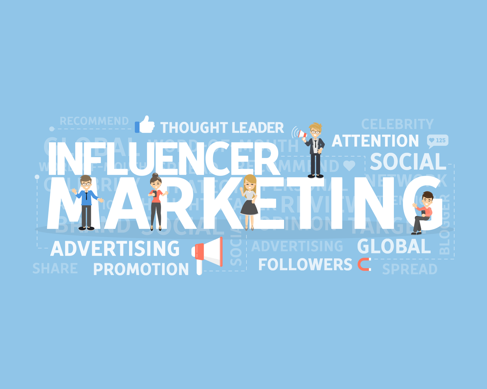 Influencer Marketing on Digital Marketing Solutions page