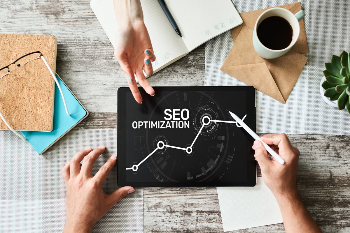 SEO Search engine optimization. Business and digital marketing concept.