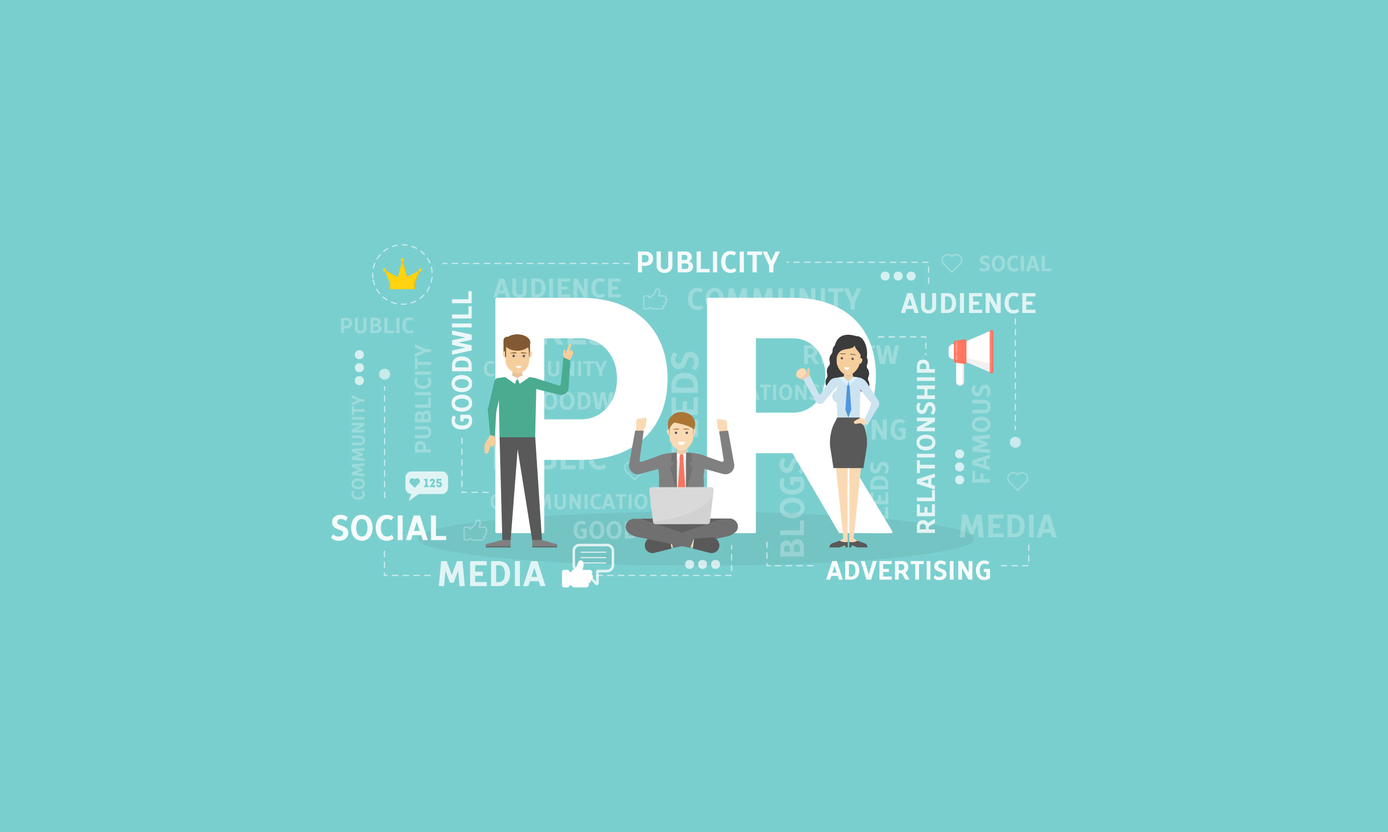 PR - Public Relations Management and Public Relations Marketing Slider
