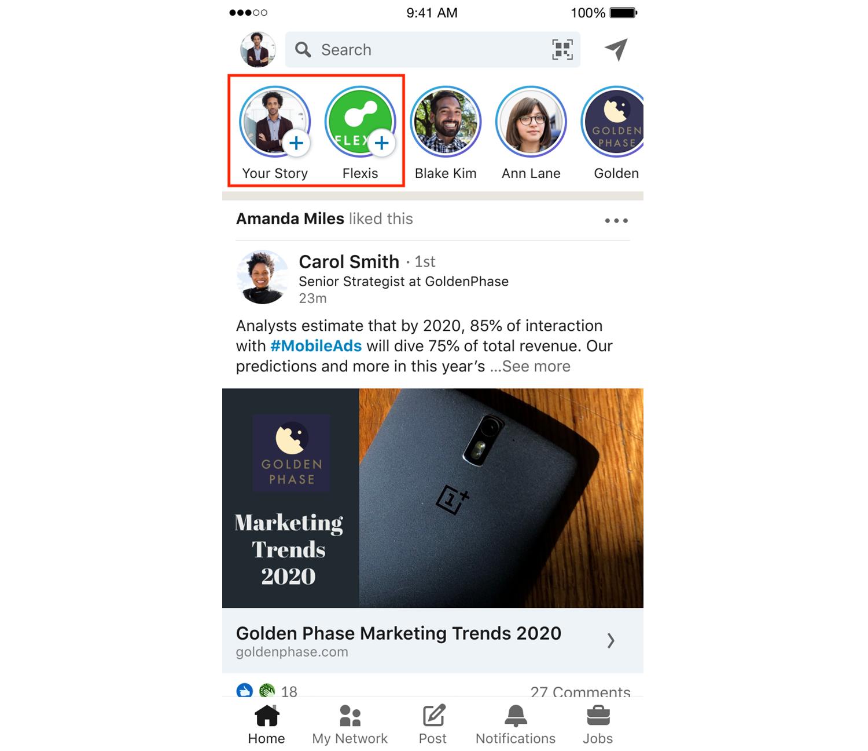 LinkedIn Stories - Digital Marketing Toronto - DMAC